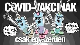Szurkálódjunk! • COVID-vakcinák – csak egyszerűen