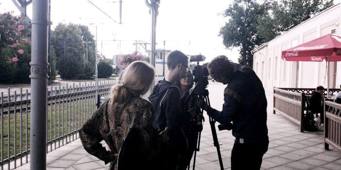 Ostróda ekipa RzeczJasnaTV przy pracy