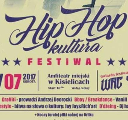 HIP HOP KULTURA FESTIWAL 2017 - KISIELICE ZAPOWIEDŹ