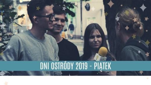 DNI OSTRÓDY - PIĄTEK