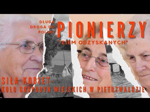 Kobieca siła.  Początki Koła Gospodyń Wiejskich w Pietrzwałdzie. Jak to było po 1945 roku?