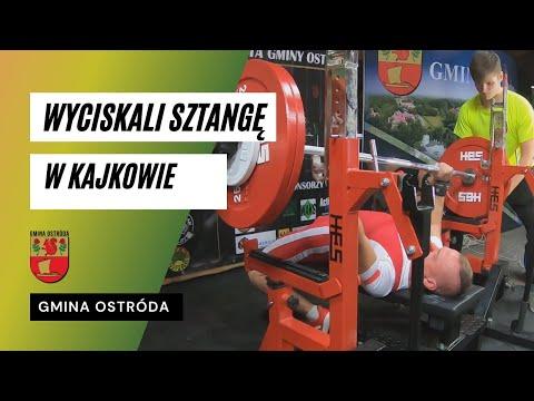 III Otwarte Mistrzostwa w Wyciskaniu Sztangi Leżąc o Puchar Wójta Gminy Ostróda