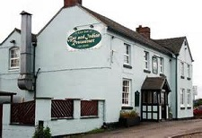 Commercial carpet cleaning at The Lion Inn and Indian Restaurant, Waters Upton, Shropshire