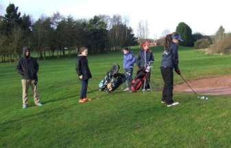 Its all girls for the Lady Captains Drive in
