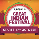 Amazon Great Indian Festival 2020 Starts on October 17