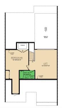 Yorkshire 3 Bedroom Floor 2