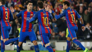 Tellforceblog: Video: Goals Highlights of Unbelievable Barca's 6-1 victory over PSG at home to go through
