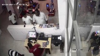 CCTV footage: Man declared wanted for duping two ladies in Delta State
