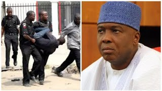BREAKING: Ex-SSS official who STOLE N310 million said to belonging to Saraki arrested by police