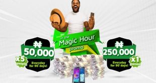9mobile Magic Hour Promo – Recharge Just N100 and WIN N5M