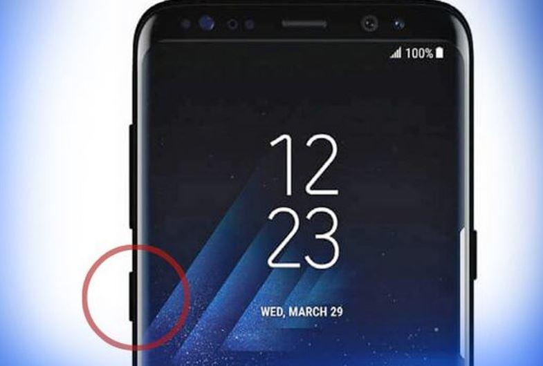 Bixby Button on Samsung