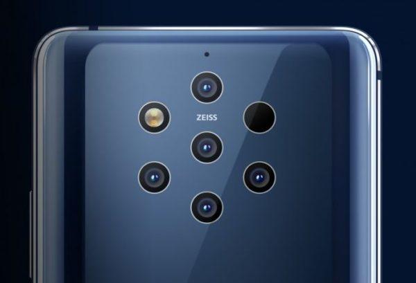 Nokia 9 PureView rear camera