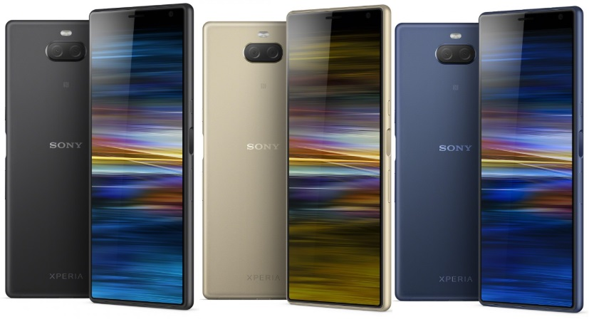Sony Xperia 10 Plus in colours
