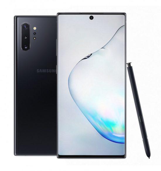 Galaxy Note10+ in aura black