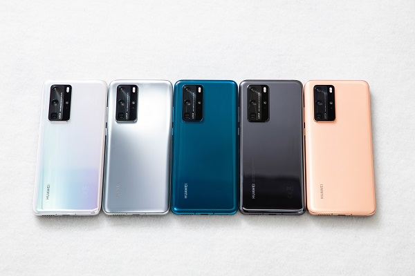 Huawei P40 Pro In Colours