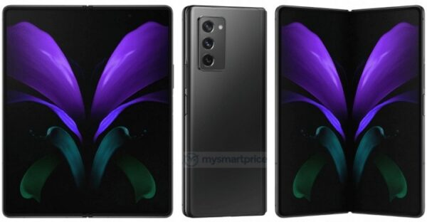 Samsung Galaxy Z Fold 2 5G Official Renders Leak