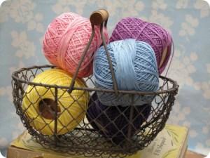 traditional crochet cotton