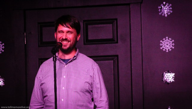 Brian Garraty, open mic volunteer. (Photo: Amber Nettles)