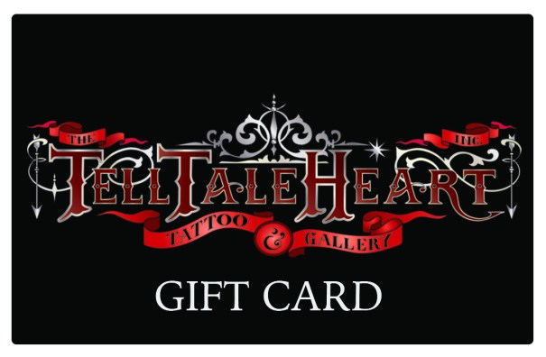 Tell Tale Heart Tattoo Gift Card