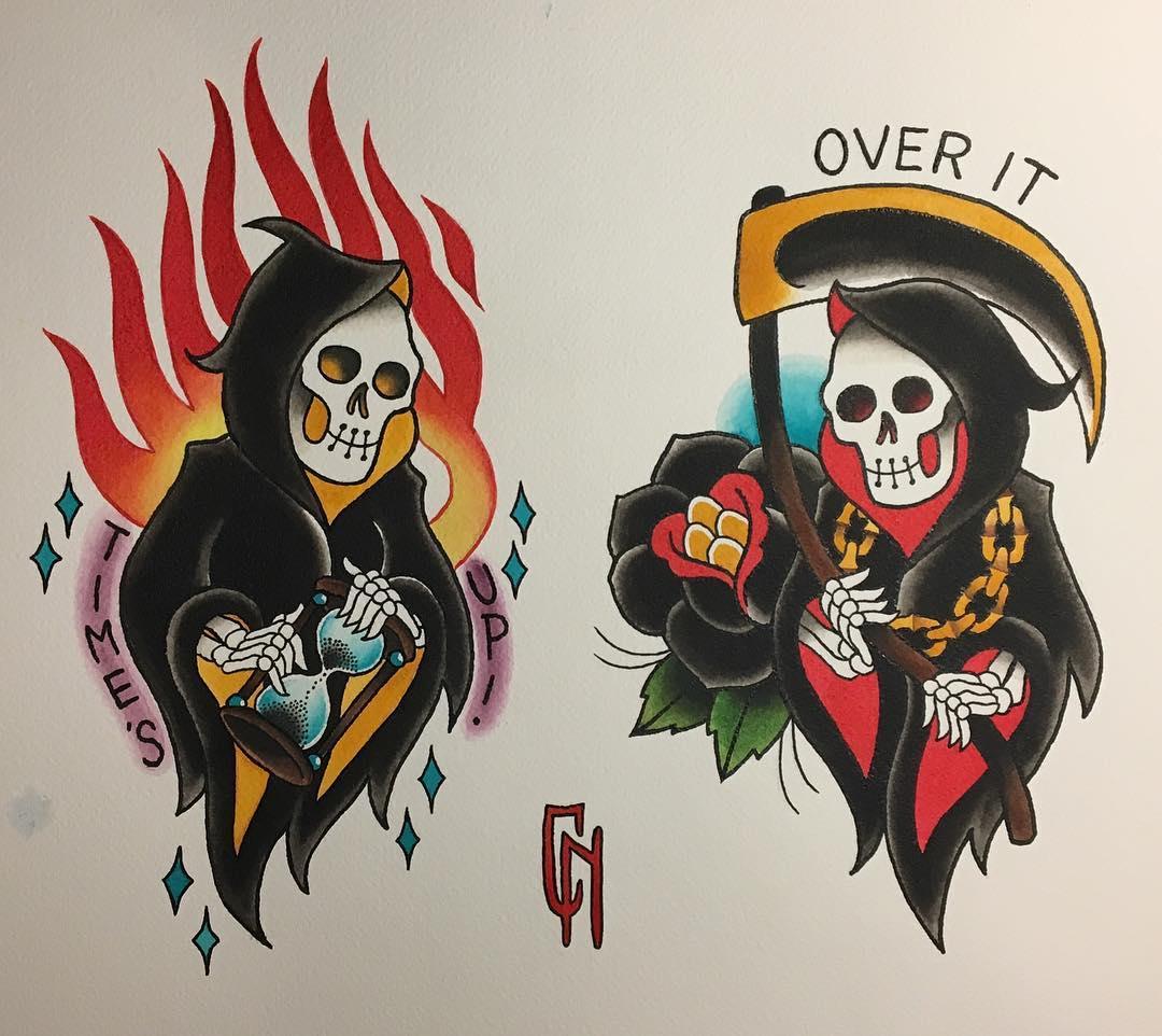 Tattoo flash by Carole