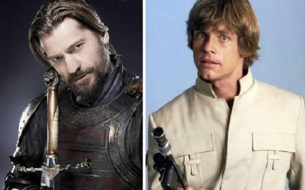 Jaime Lannister e Luke Skywalker