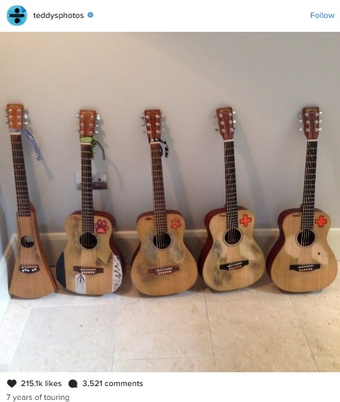 guitarras ed sheeran