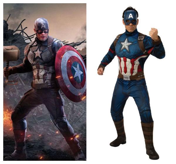 capitão américa traje