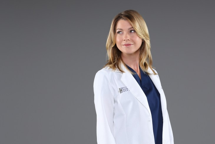 "GREY'S ANATOMY - ABC's ""Grey's Anatomy"" stars Ellen Pompeo as Dr. Meredith Grey. (ABC/Bob D'Amico)"