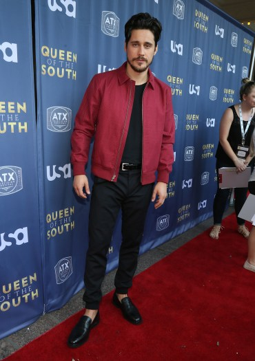 AUSTIN, TX - JUNE 9: Actor Peter Gadiot at the opening night with USA's 'Queen of the South' at the 2016 ATX Television Festival at the Stephen F. Austin InterContinental Hotel on June 9, 2016, in Austin, Texas. (Photo by Jack Plunkett/Picturegroup)