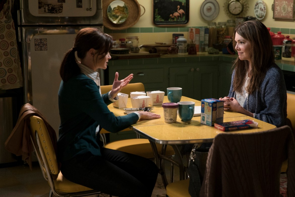 Gilmore Girls (courtesy Netflix)