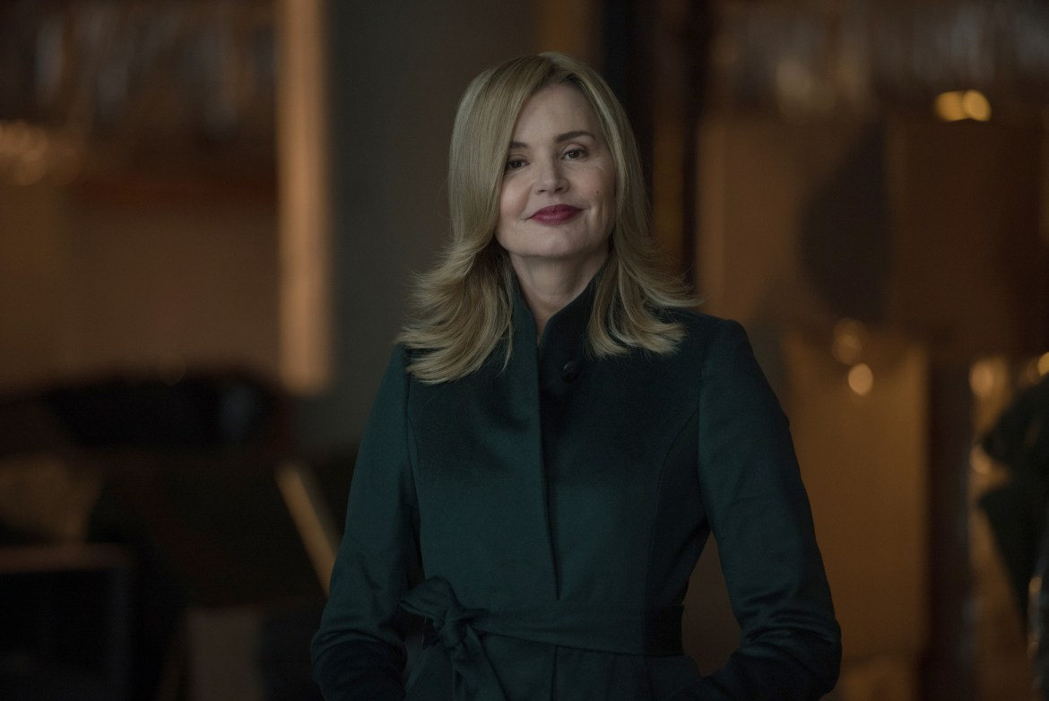 """THE EXORCIST: Geena Davis in the """"Chapter Nine: 162"""" episode of THE EXORCIST airing Friday, Dec. 9 (9:01-10:00 PM ET/PT) on FOX. ©2016 Fox Broadcasting Co. Cr: Jean Whiteside/FOX"""