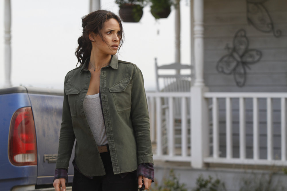 """EMERALD CITY -- """"The Beast Forever"""" Episode 101 -- Pictured: Adria Arjona as Dodorthy -- (Photo by: Rico Torres/NBC)"""