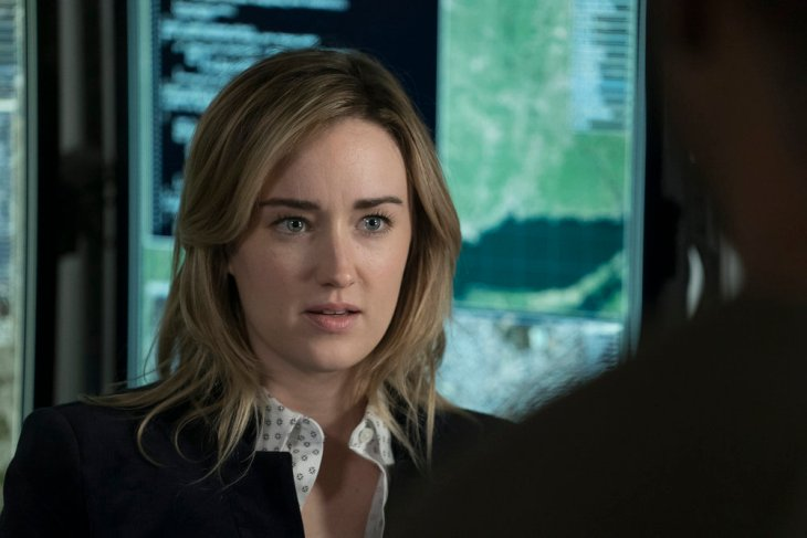 "BLINDSPOT -- ""Droll Autumn, Unmutual Lord"" Episode 211 -- Pictured: Ashley Johnson as Patterson -- (Photo by: Peter Kramer/NBC)"