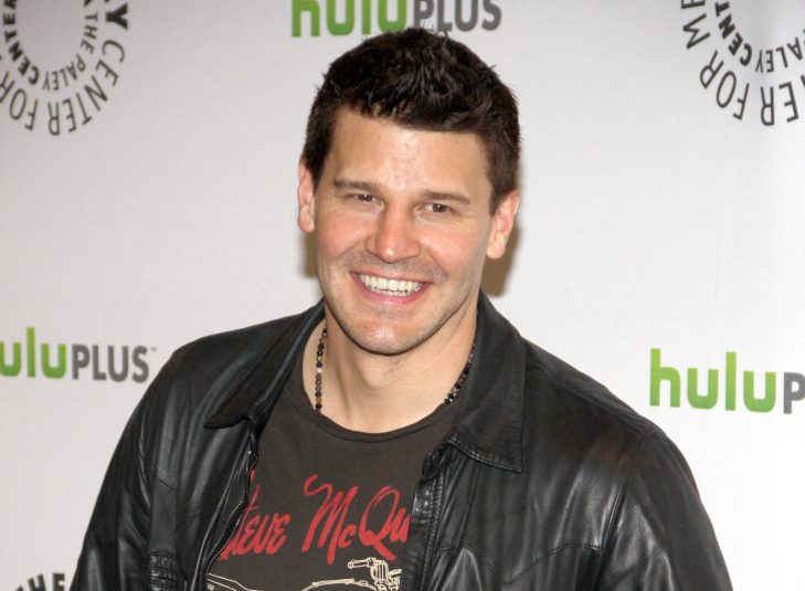 "David Boreanaz at the PaleyFest 2012 Presents ""Bones"" held at the Saban Theatre, Los Angeles."