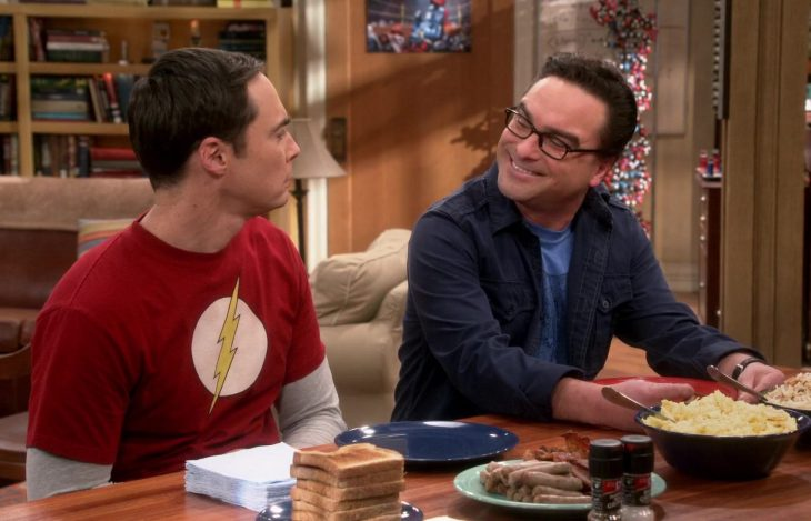 the big bang theory sheldon and leonard
