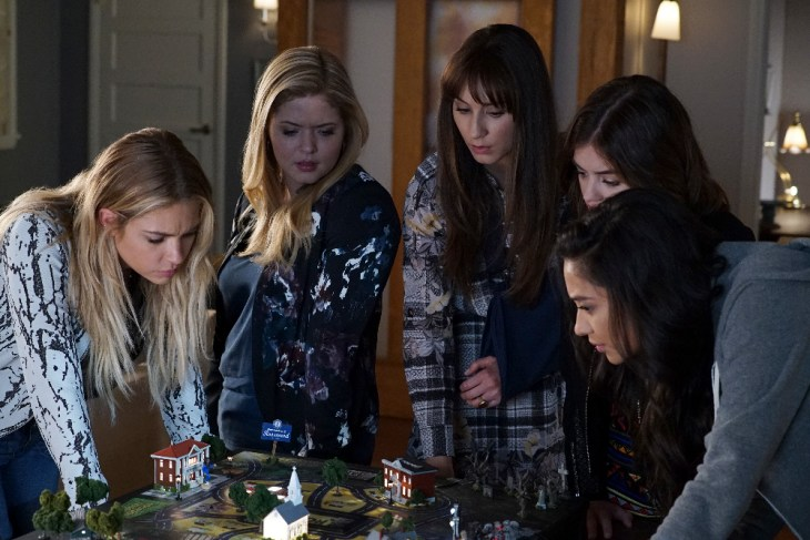 "PRETTY LITTLE LIARS - ""These Boots Are Made For Stalking"" - Could a high schooler be part of A.D.'s operation? Addison, a mini version of high school Ali, stirs up trouble in ""These Boots Were Made for Stalking,"" an all-new episode of Freeform's hit original series ""Pretty Little Liars,"" airing TUESDAY, APRIL 25 (8:00 – 9:02 p.m. EDT). (Freeform/Eric McCandless)"