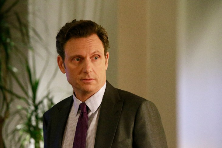 """SCANDAL - """"The Decision"""" - With the ugly truth behind Frankie's assassination revealed, a torn Olivia wonders how different her life - and the country - would be if she, Mellie and Cyrus had never rigged Fitz's election, on """"Scandal,"""" airing THURSDAY, APRIL 13 (9:01-10:00 p.m. EDT), on The ABC Television Network. (ABC/Mitch Haaseth)"""