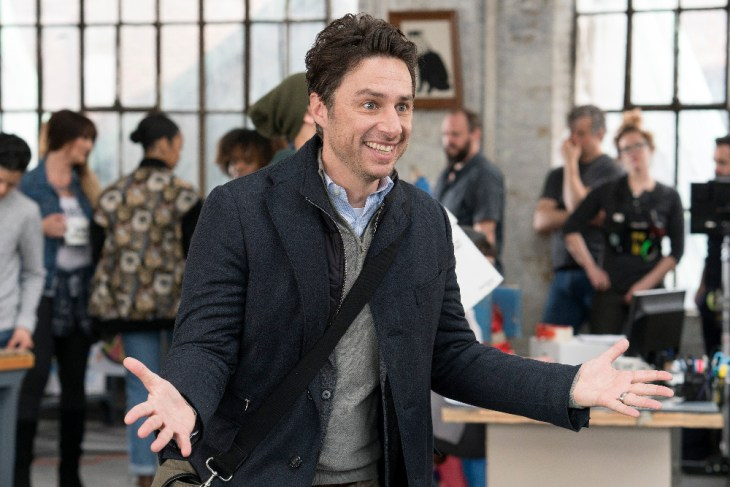 "ALEX, INC. - ""Pilot"" - Based on the podcast StartUp, Alex Schuman (Zach Braff, ""Scrubs"") is a brilliant radio journalist, husband and father of two who is about to do something crazy---quit his job and start his own company. He quickly discovers it's going to be a lot harder than he thought. (ABC/Elizabeth Fischer)"