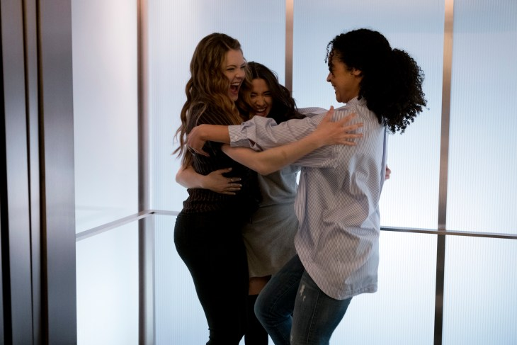 THE BOLD TYPE - ÒIf You CanÕt Do It With FeelingÓ - Sutton is flustered when someone at Scarlet has the wrong impression of her professional background.Ê Jane is determined to prove she can have a friends with benefits relationship without feelings getting in the way.Ê And Kat and Adena continue growing closer. This episode of ÒThe Bold TypeÓ airs Monday, July 25th (9:01 - 10:02 p.m. EDT) on Freeform. (Freeform/Phillippe Bosse)