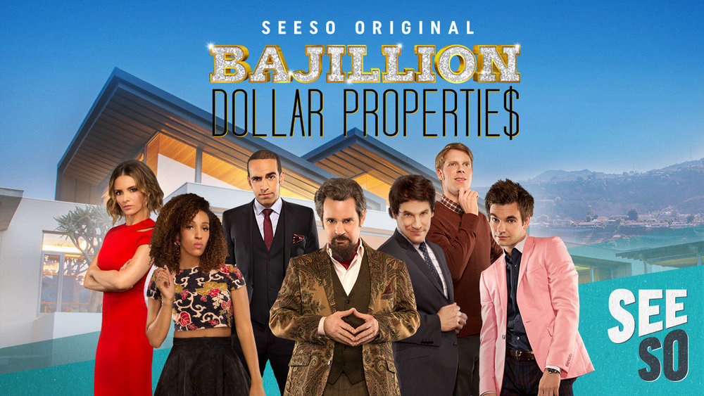 "BAJILLION DOLLAR PROPERTIE$ -- Pictured: ""Bajillion Dollar Properties"" Key Art -- (Photo by: NBCUniversal)"