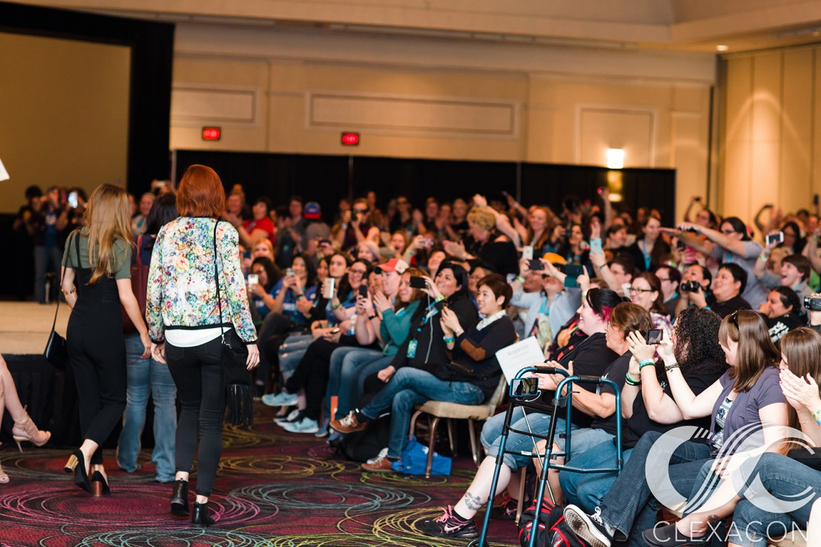 ClexaCon Wynonna Earp Panel Photo Credit: Dana Lynn Pleasant