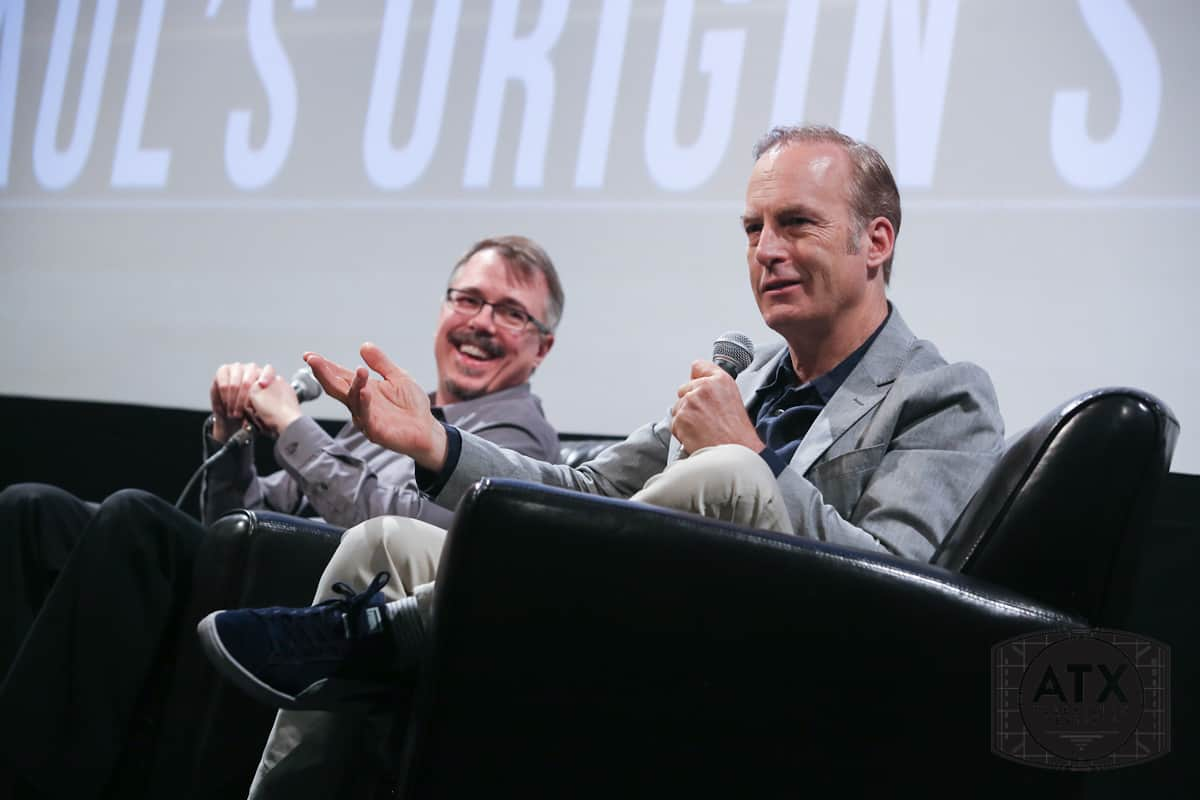 Vince Gilligan and Bob Odenkirk Discuss 'Better Call Saul' at the ATX Television Festival