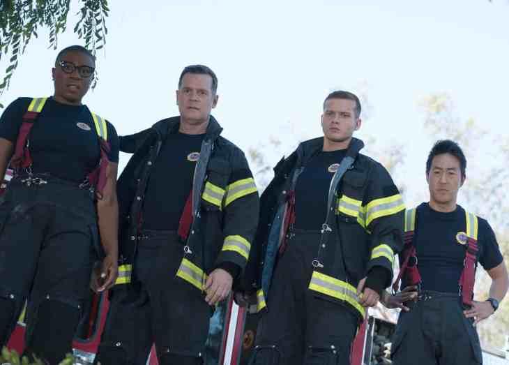 """911 Season 2 Episode 1 - """"Under Pressure"""""""