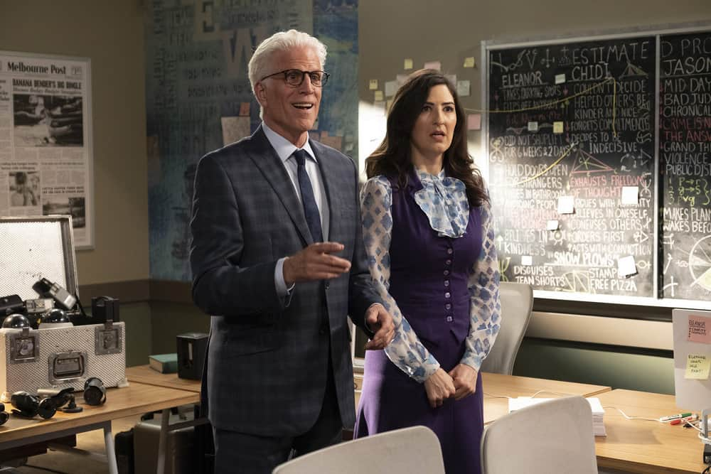 The Good Place Review Jeremy Bearimy Season 3 Episode 4 Tell
