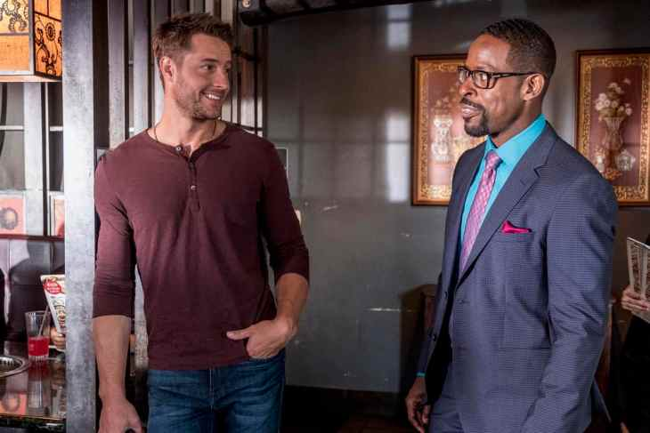 This Is Us Season 3 Episode 6 - Justin Hartley as Kevin Pearson, Sterling K. Brown as Randall Pearson