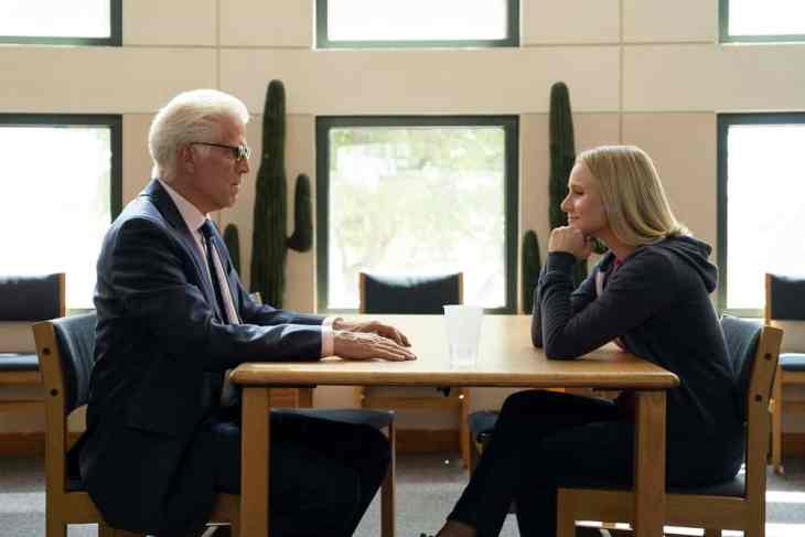 """The Good Place - Season 3 Episode 8 - """"The Worst Possible Use of Free Will"""" - Ted Danson and Kristen Bell"""