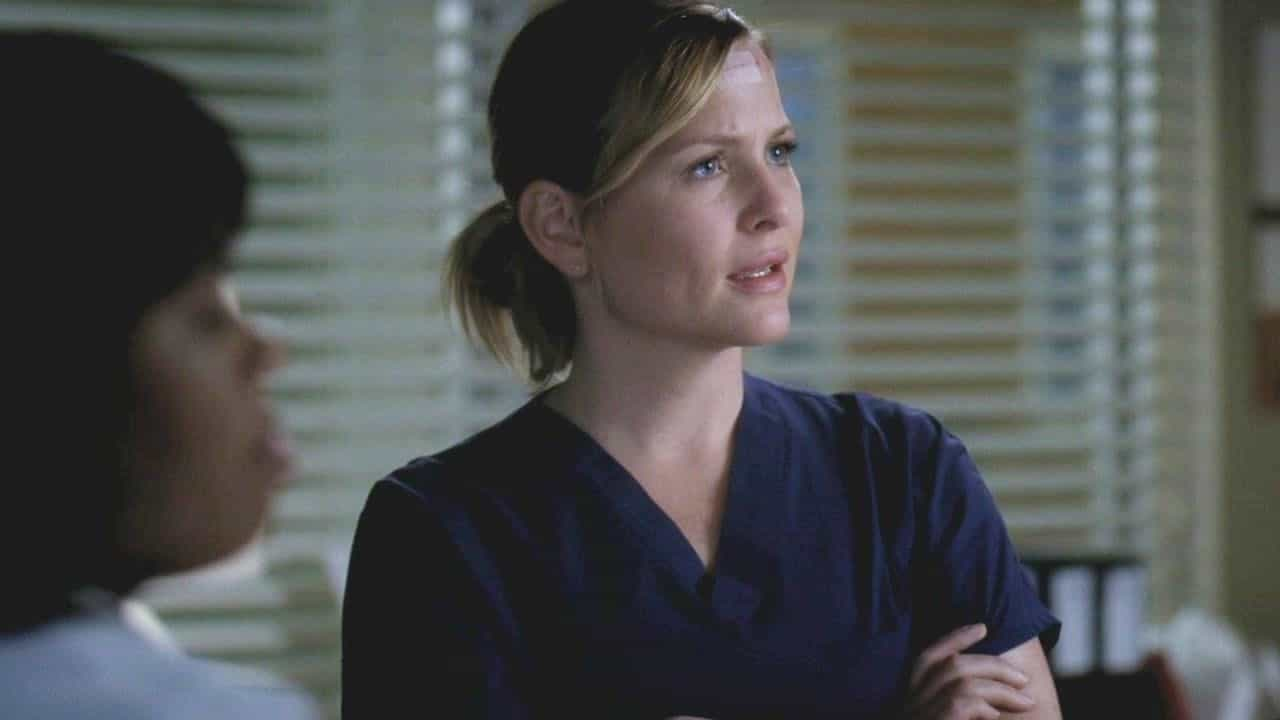 Jessica Capshaw In Greys Anatomy Season 7 Episode 18 Song Beneath