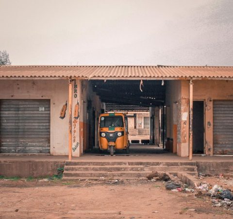 Lockdown shops in Kaduna by Chux Anthony