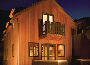 To combat Telluride's winters, high-efficiency windows and closed-cell foam insulation, keep the cold out.