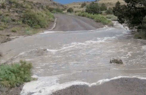 Mud Washes Out Roads, Inspires Local Poet